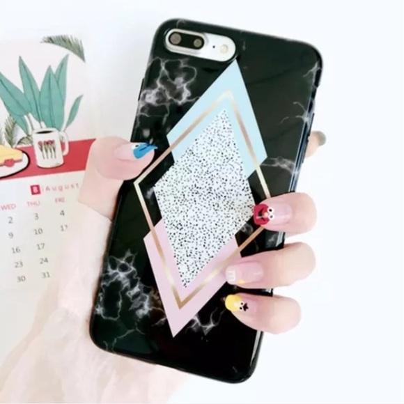 iphone 8 plus phone case geometric